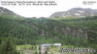 Rauris: Kolm-Saigurn - Naturfreundehaus - Blick nach S�den - Jour