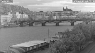 Vue webcam de jour à partir de Prague: Panorama Pražského hradu
