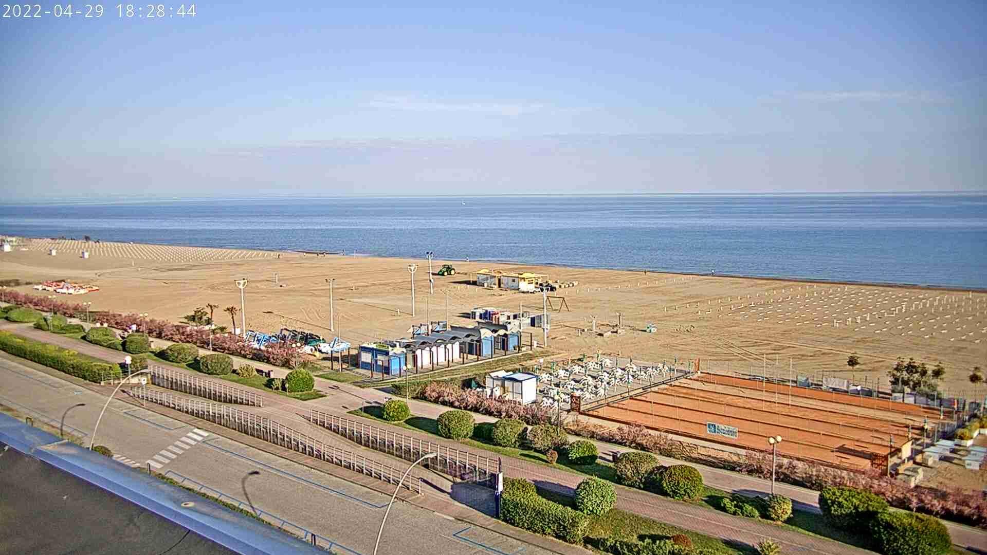 Webcam Bibione: spiaggia