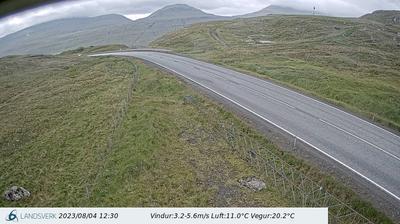 Daylight webcam view from Gøtueiði