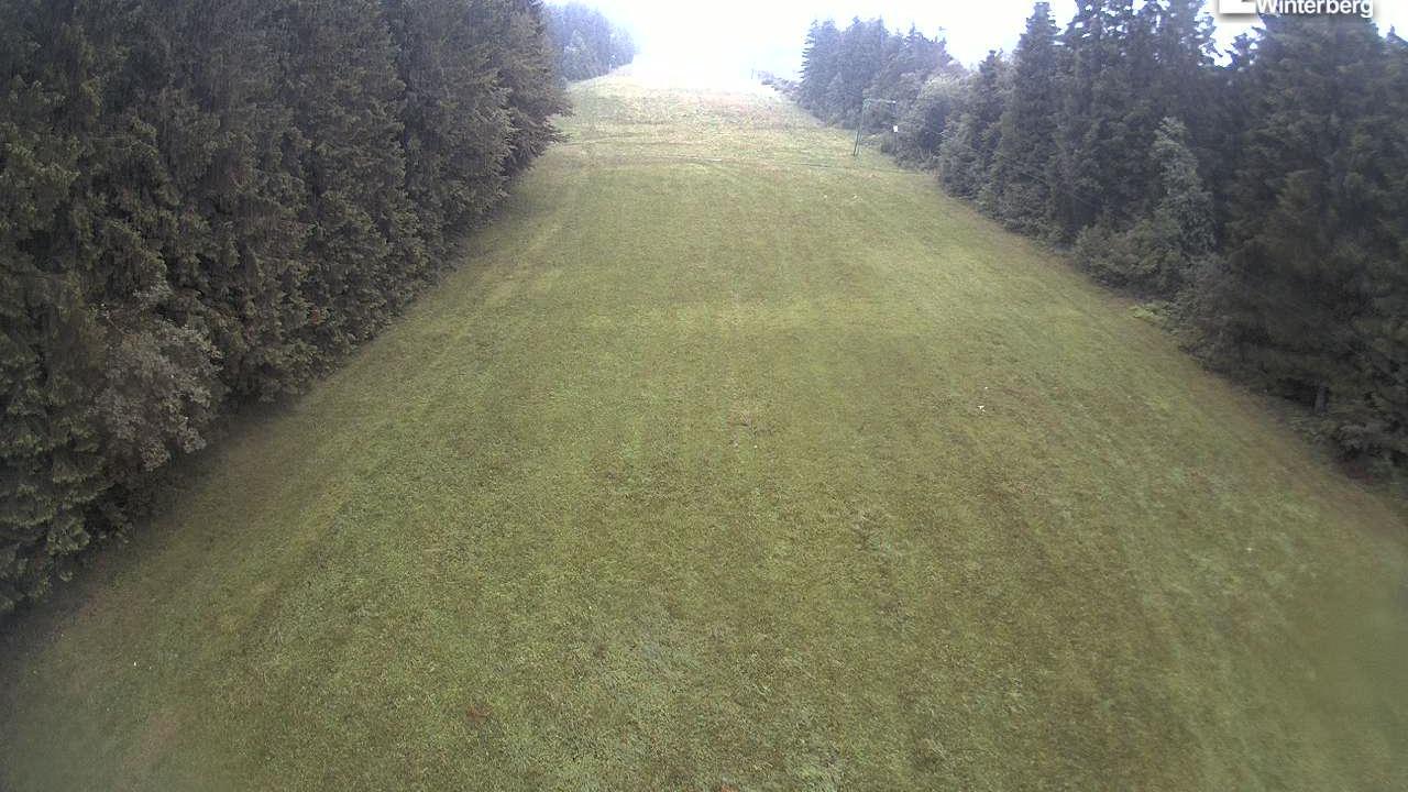 Webkamera Altastenberg: Bremberg − Skiliftkarussell Winterbe