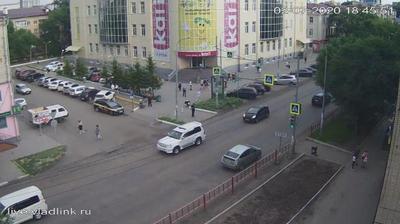 Уссурийск, перекресток Некрасова - Пролетарская