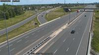 Fort Erie: QEW Thompson Rd - Day time