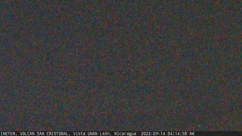 Webcam Volcán San Cristóbal › North-West: Chinandega