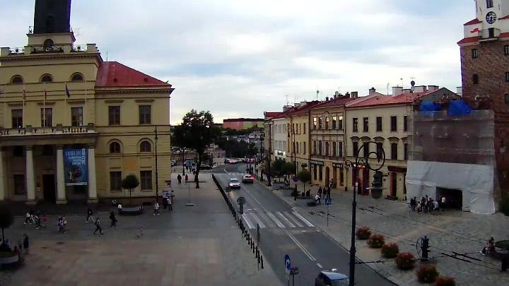 Webkamera Lublin › North