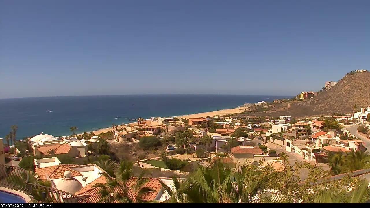 Webkamera Cabo San Lucas: Villa las Flores