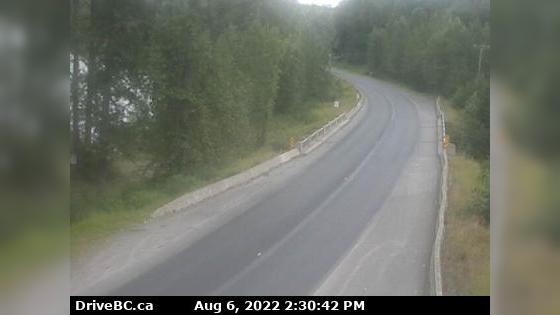 Webcam Evelyn › South-East: Hwy 16 at the Trout Creek bri