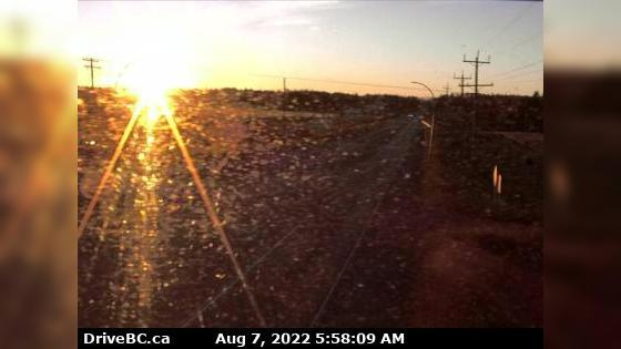 Webcam Vanderhoof › East: Hwy 16 at Hwy 27 Junction, look
