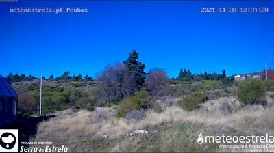Daylight webcam view from Penhas da Saúde › North East: Serra da Estrela