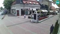Đakovo: Đakovo Korzo, pedestrian zone - El día