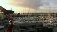 La Foret-Fouesnant: Port-La-Forêt - Le port - Actuelle