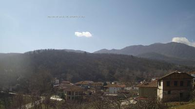 Current or last view from Sarakinoi › South West: Pella Vermio Macedonia Greece