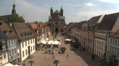 Daylight webcam view from Speyer: Speyer Cathedral