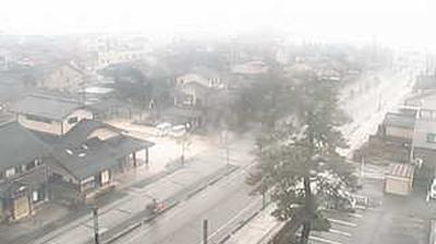 Webcam 飯田町: 珠州市役所