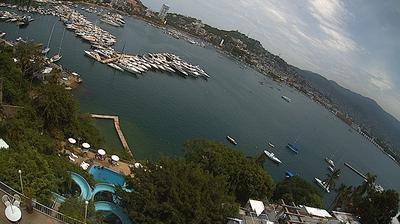 Vue webcam de jour à partir de Acapulco de Juárez: Marina