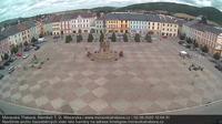 Moravska Trebova: Moravská Třebová náměstí T.G.Masaryka - Overdag
