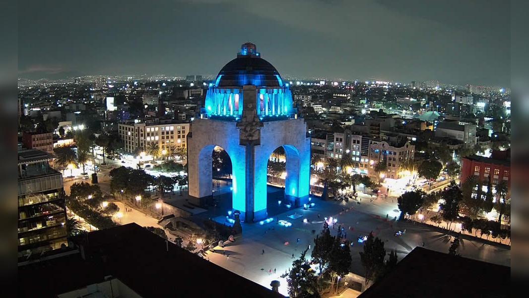 Webcam Cuauhtémoc: Ciudad de − Monumento a la Revolución