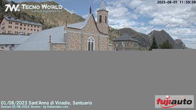 Vinadio: Santuario di Sant'Anna di