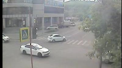 Webkamera Krasnoyarsk: перекресток Лебедевой − Перенсона