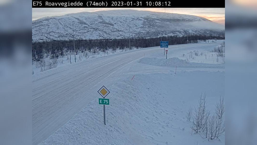 Webkamera Roavvegieddi: E75 Roavvegiedde (74 moh)