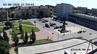 Khmelnytskyi › South-East: Хмельницкий - Хмельницкая область, Украина: ЖД вокзал - Tageszeit