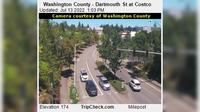Tigard: Washington County - Dartmouth St at Costco - Day time