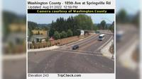 Cornelius: Washington County - th Ave at Springville Rd - Day time