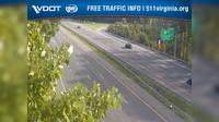 Newport News: I- - MM . - WB - AT Fort Eustis Blvd overpass - Day time