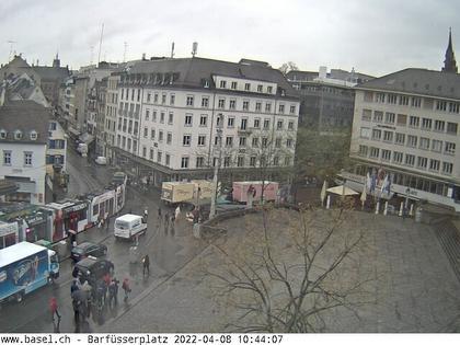 Basel: Barfüsserplatz
