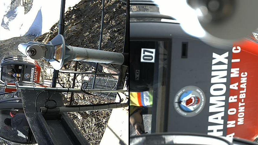 Webcam Casa Purtud: Chamonix bicable gondola