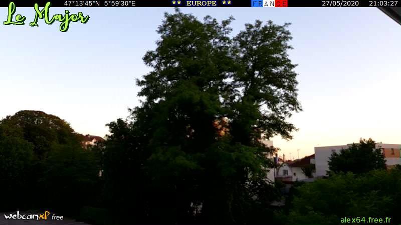 Webkamera Besançon: Doubs − Franche-Comté): Webcam «Le Majo