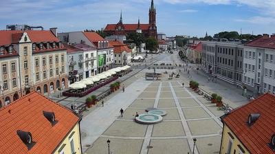 Webkamera Białystok: Rynek Kościuszki