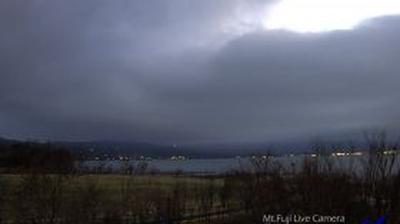 Webcam Isawa: le lac Yamanaka − Mt Fuji