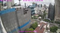 Bangkok: Skyline from Sathorn Road - Dagtid