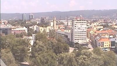 Vue webcam de jour à partir de Banja Luka: Bulevar Cara Dušana