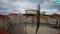 Piran: Webcam - Tartini square - Overdag