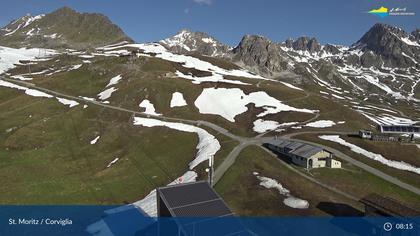 Sankt Moritz: Corviglia, Audi quattro Bar - Snowpark