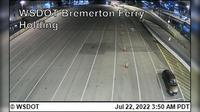 Bainbridge Island › North: WSF Bremerton Ferry Holding - Current