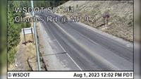 Spokane > North: SR  at MP .: Charles Road () - Overdag