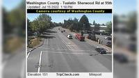Tualatin: Washington County - Sherwood Rd at th - Day time