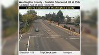 Tualatin: Washington County - Sherwood Rd at th - El día