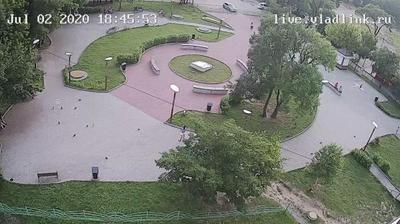 Уссурийск: Уссурийск, сквер на Стаханова