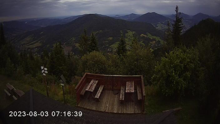 Webcam Luboń Wielki › North: Glisne − Tenczyn − Szczebel