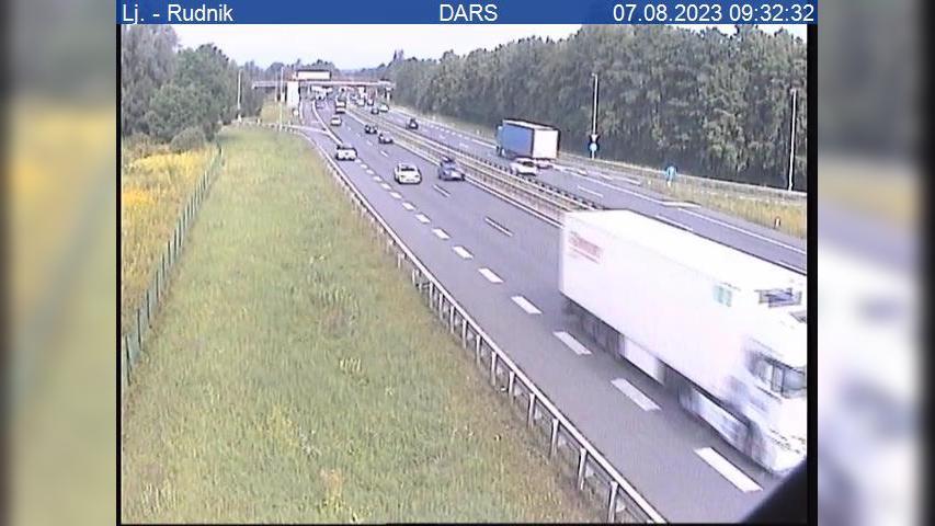 Webcam Ilovica: A1/E70 − južna obvoznica, Lj. − Rudnik