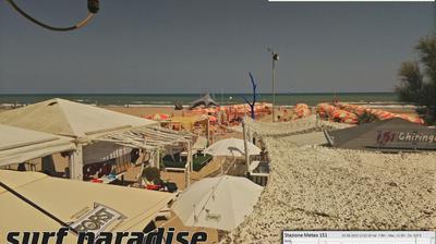 Vue webcam de jour à partir de Riccione › North East