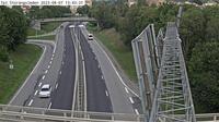 Stuvsta-Snattringe: Tpl Stor�ngsleden (Kameran �r placerad p� v�g  Huddingev�gen i h�jd med trafikplats Stor�ngsleden och �r riktad mot Stockholm) - Recent