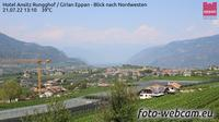 Girlan - Cornaiano: Eppan - Blick nach Nordwesten - El día