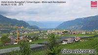 Girlan - Cornaiano: Eppan - Blick nach Nordwesten - Day time