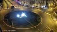 Ploieşti: Ploiesti City Hall - Piața Eroilor - Bulevardul Republicii - Actuales