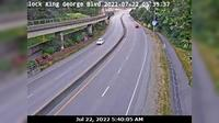 Bridgeview > West: , Hwy A (King George Blvd) near nd St, looking west - Overdag